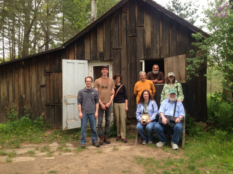 Backyard Ecology at Aldo Leopold's shack near Baraboo, Wisconsin.
