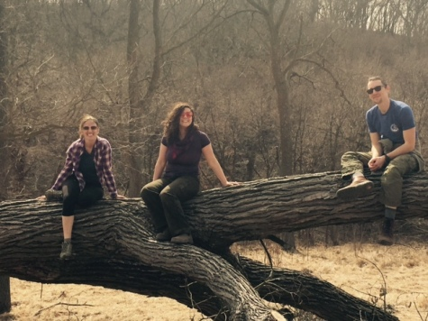 Wild naturalists at Hitchcock Nature Center in Iowa's Loess Hills.