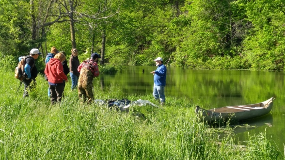 TNS at  pond