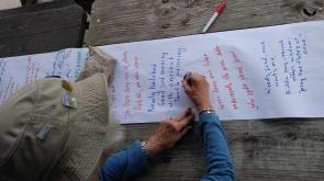 writing scroll
